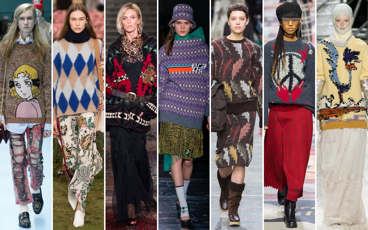 rivenditore online edbf3 169a7 Moda: Maglioni, le tendenze moda Autunno Inverno 2018 2019 ...